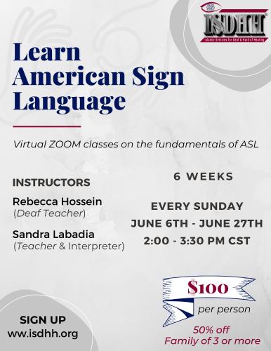 ASL Classes 2021