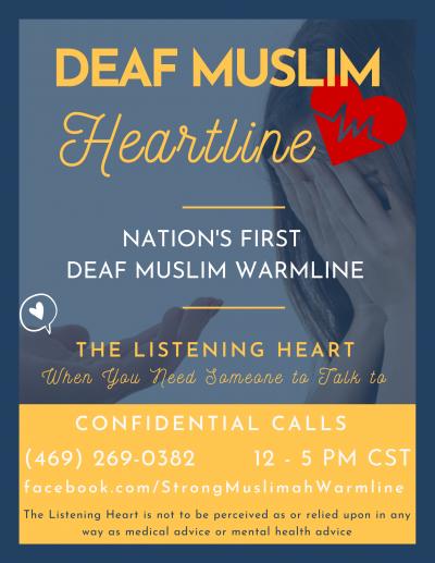 DEAF MUSLIM HEART LINE