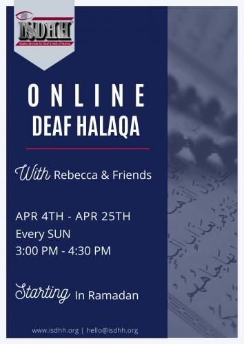 Online Deaf Halaqa